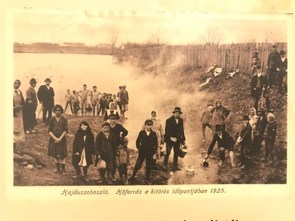 Svavelhaltigt vatten i Ungern sekelskiftet