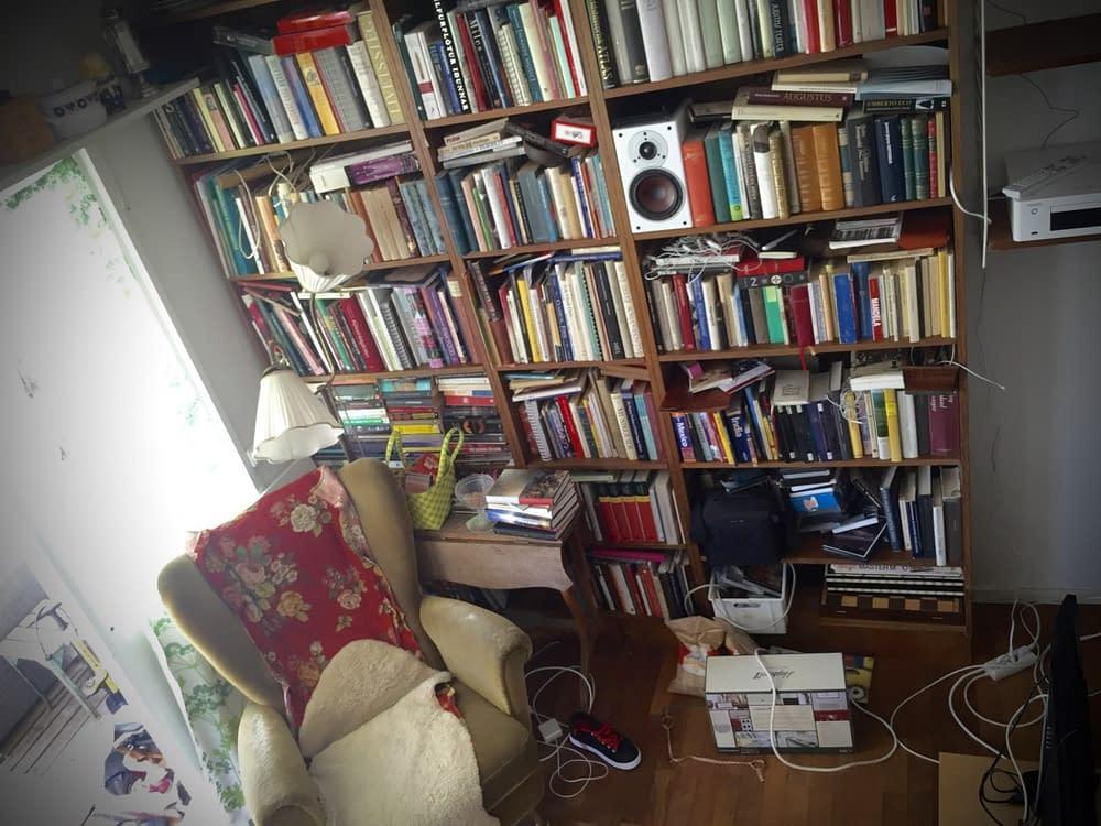 Musikanters vardagsrum.