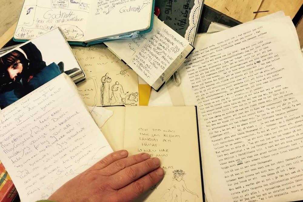 Skrivna minnen från ett helt liv