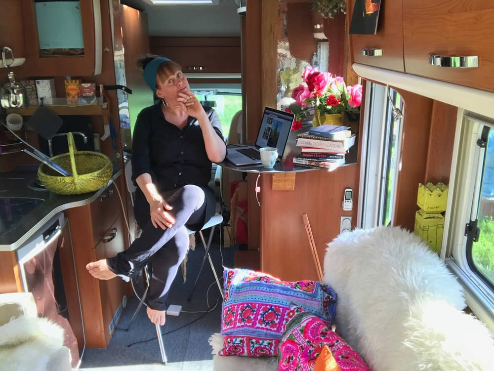 The smallest Culture house On Wheels