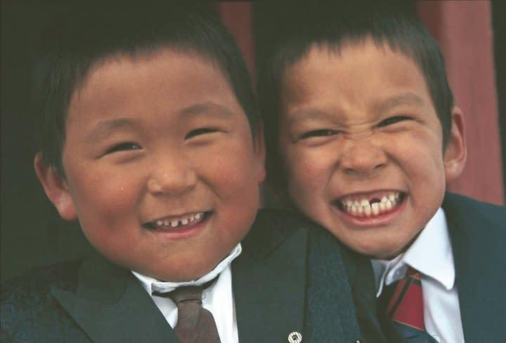 Greenland, Tasiilaq, boys. Photo Malin Skinnar