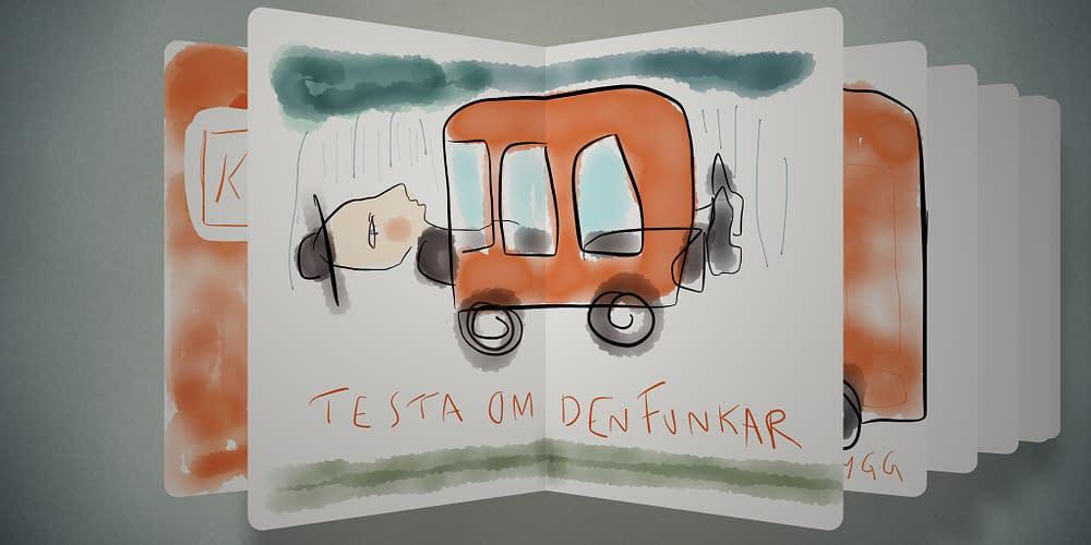Hur väljer man husbil? Testa om husbilen funkar.