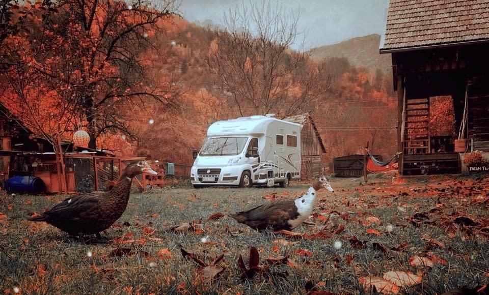 Camping in Romania - Photo Malin Skinnar