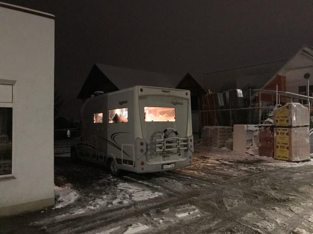 Kulturhus i en husbil