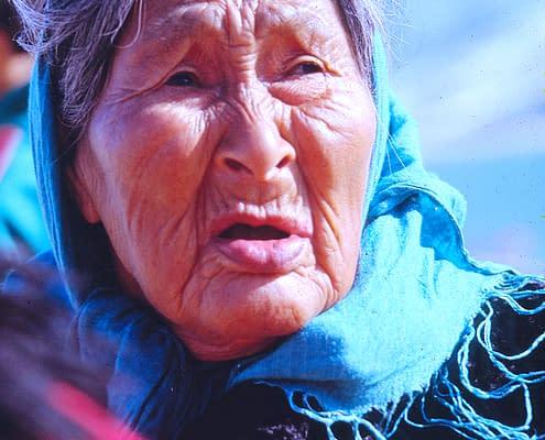 Inuit Woman, Ikateq Greenland, 1993, Photo Malin Skinnar