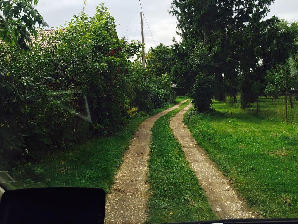 Hiumaa road