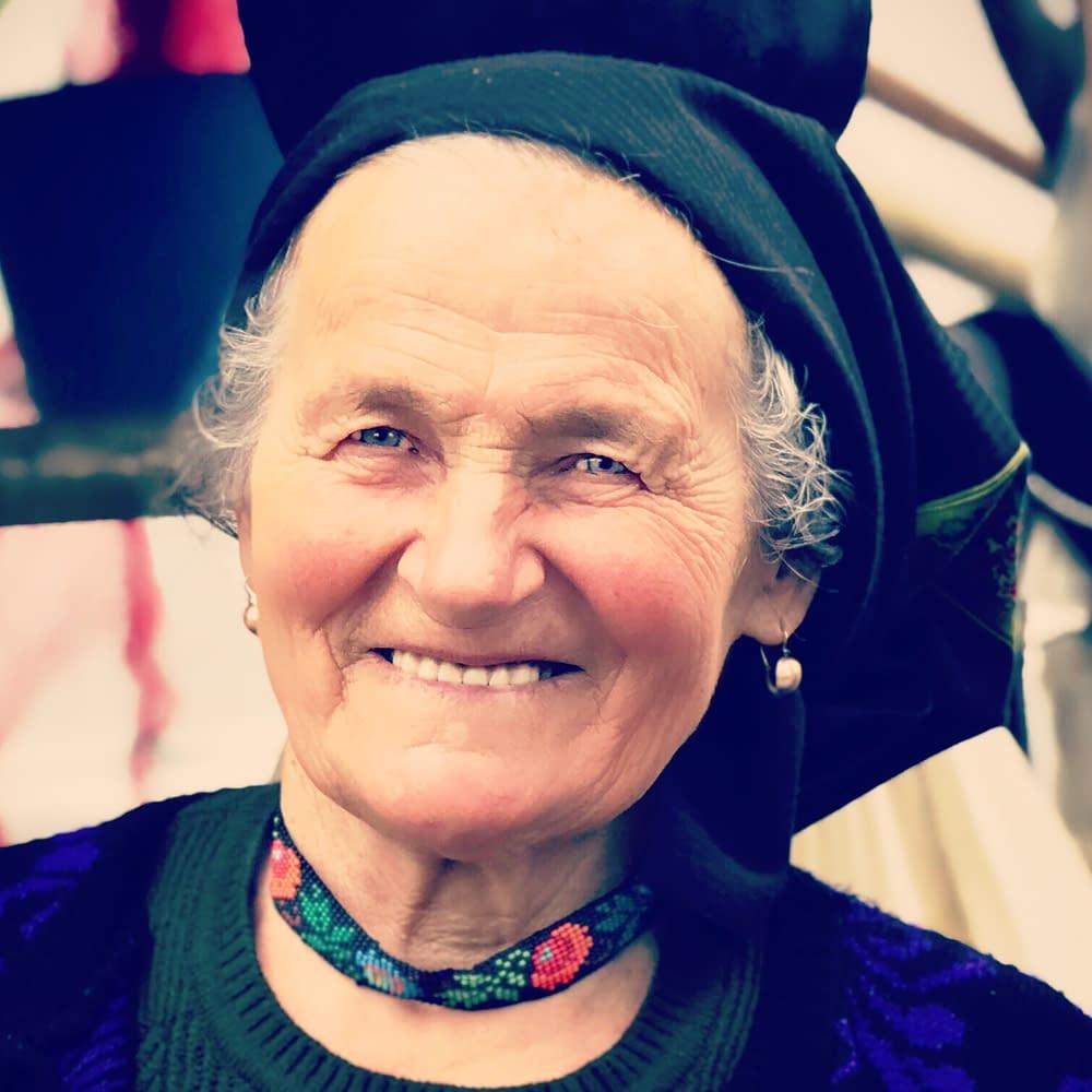 Gospodina, Zamfira Filip, Cupseni, Romania, portrait by Malin Skinnar