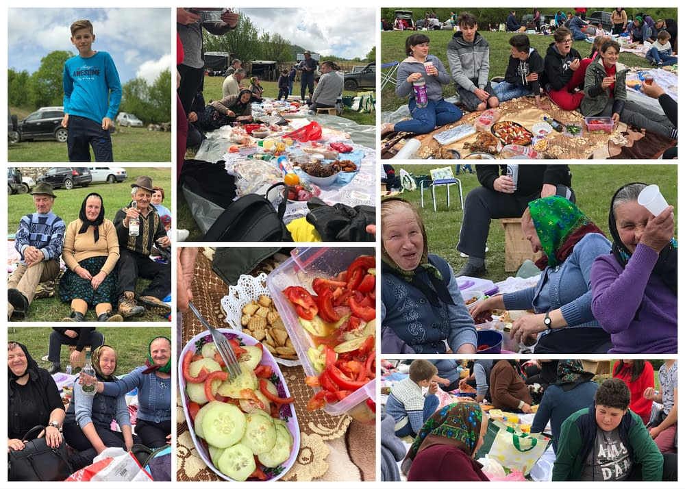 Picknick with sheep farmers Cupseni