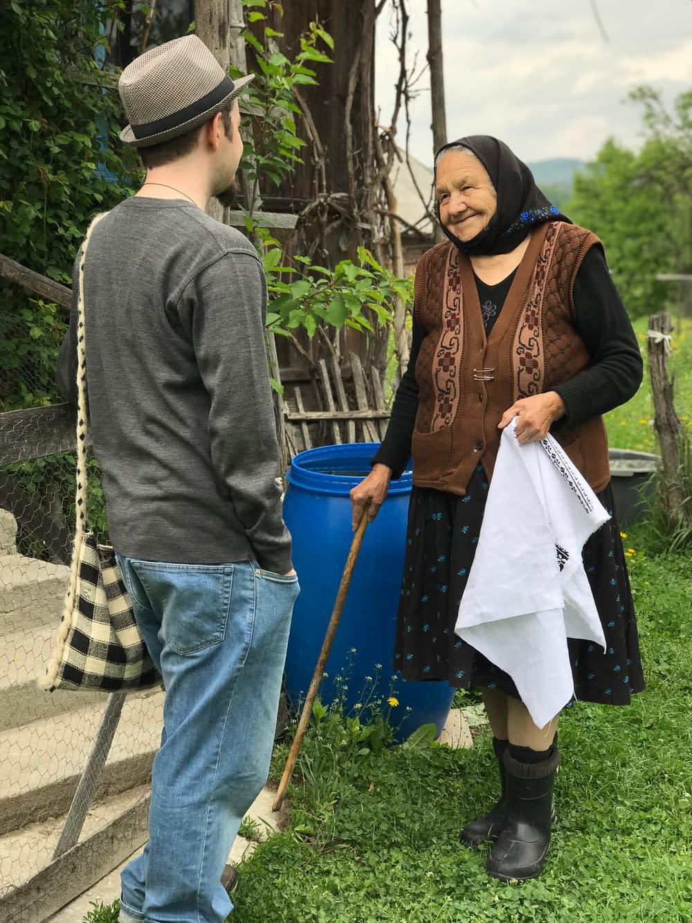 Folklorist Alex Ilea in Costeni