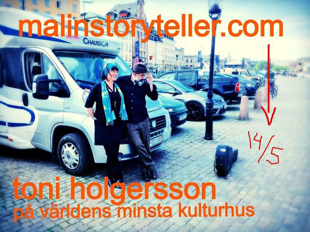 Långfilm med långa samtal mellan Malin Skinnar o Toni Holgersson.