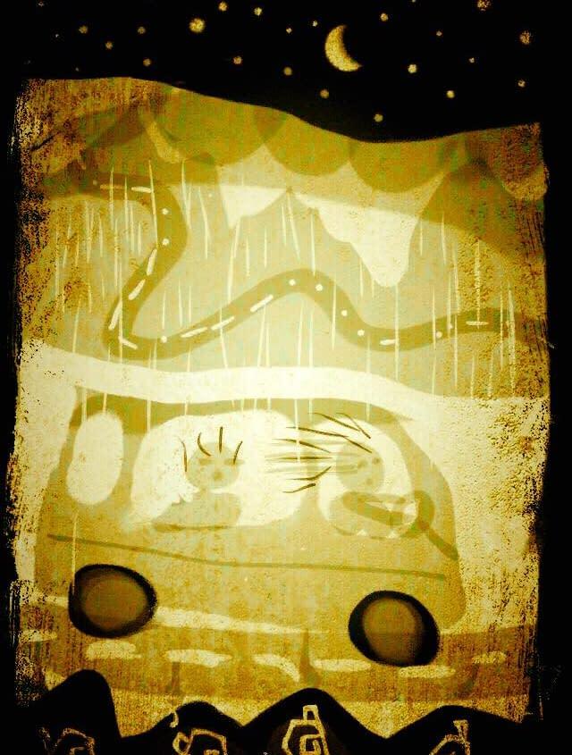 Illustration och berättelse av Malin Skinnar