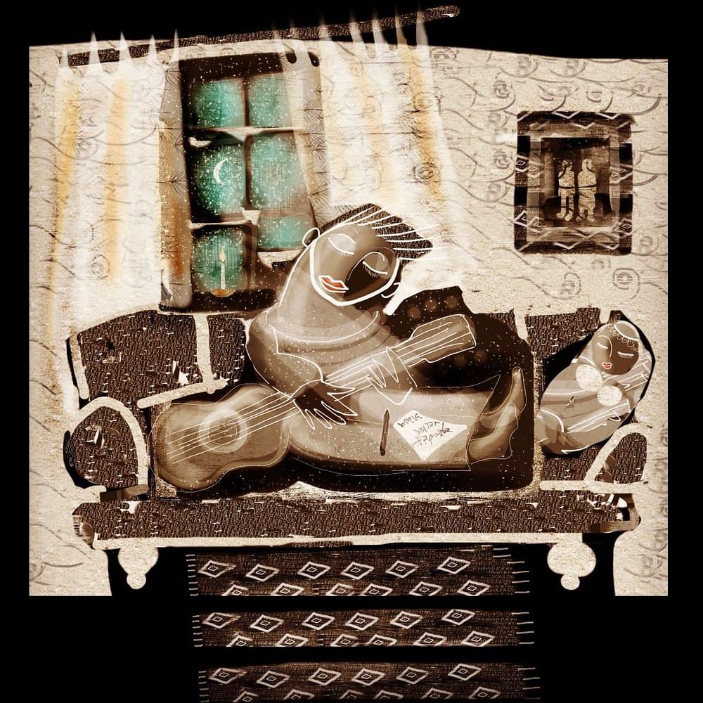 Illustration till sångbok