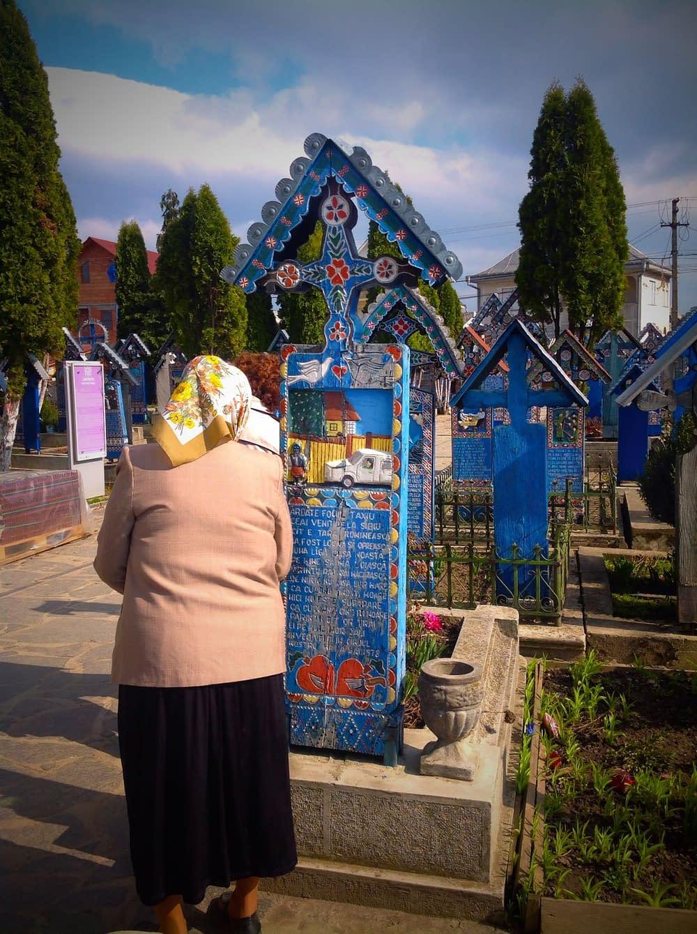 Kyrkogård Sapanta Rumania
