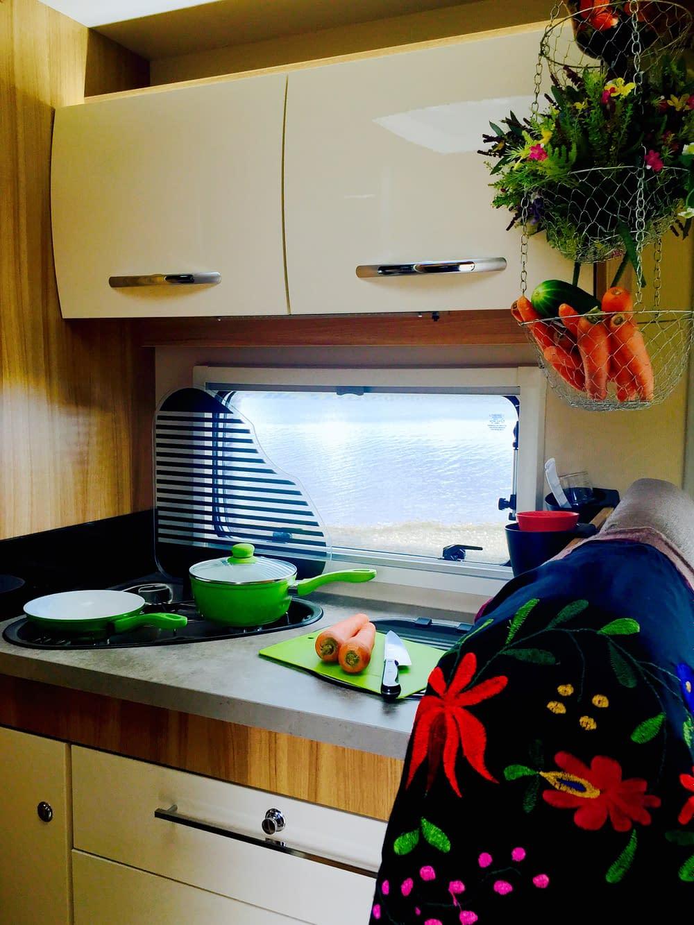 Kök i husbil