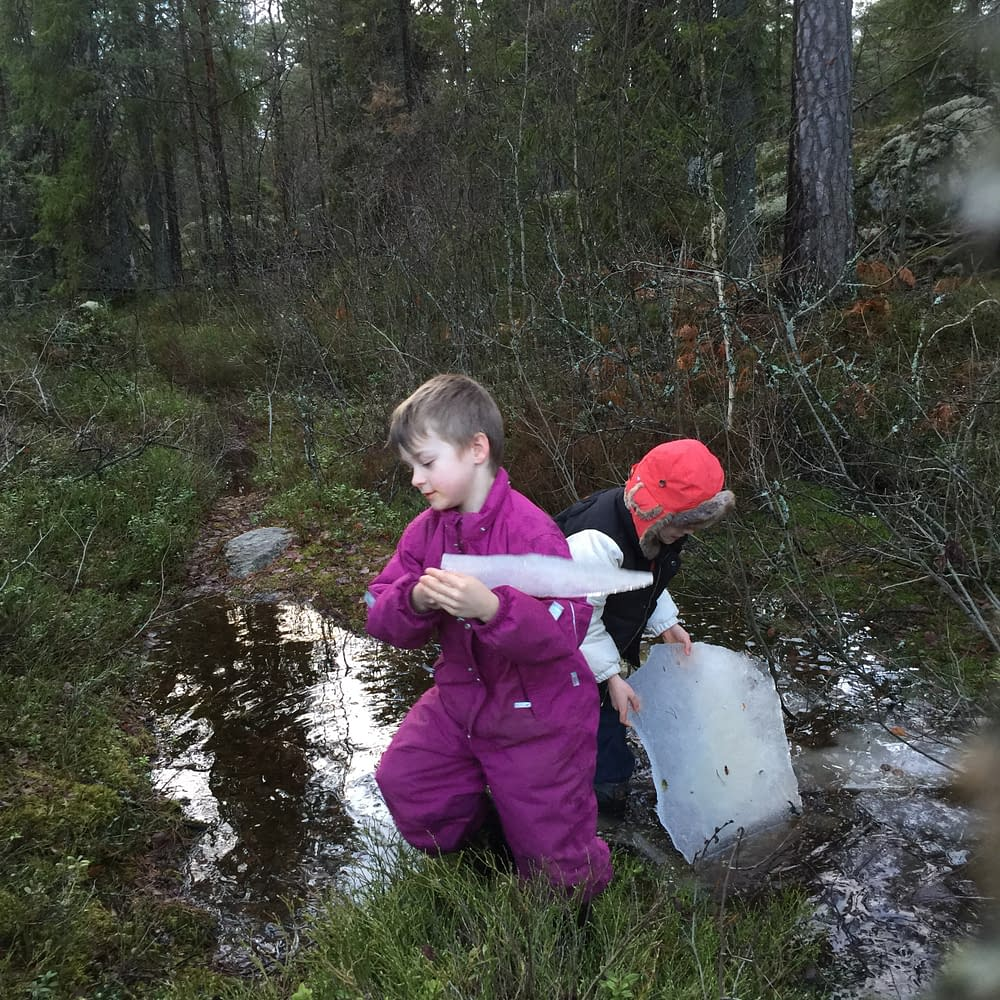 Is lyfts ur bäcken