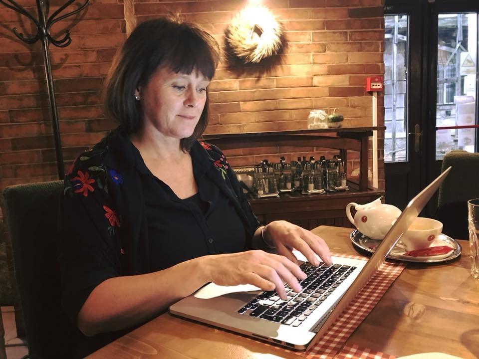 Digital nomad skapar överallt.
