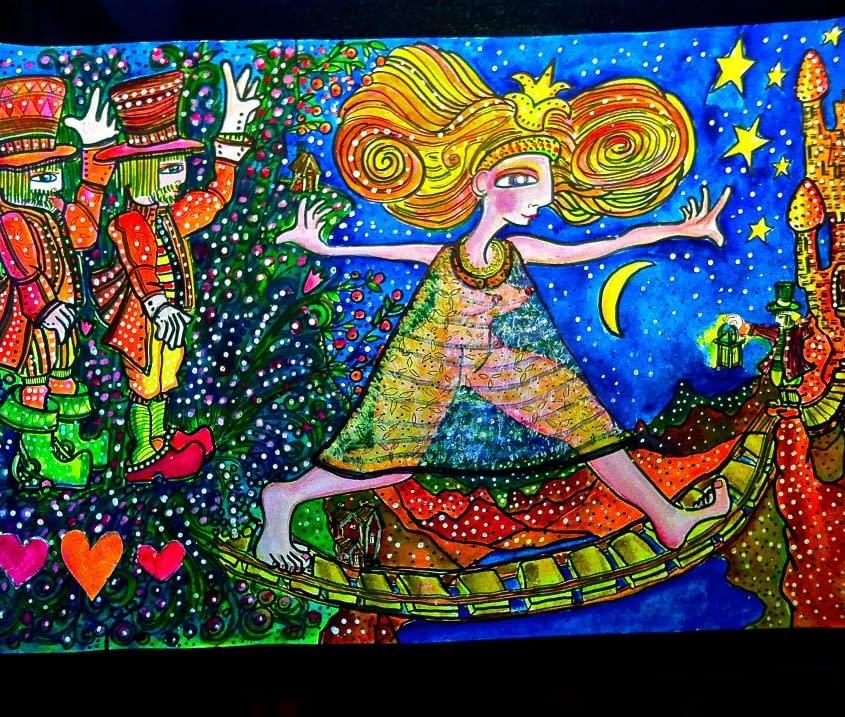 Art by Malin Skinnar