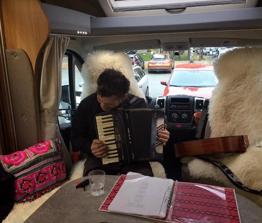 Murhaf Fanos, musician Umeå from Syria