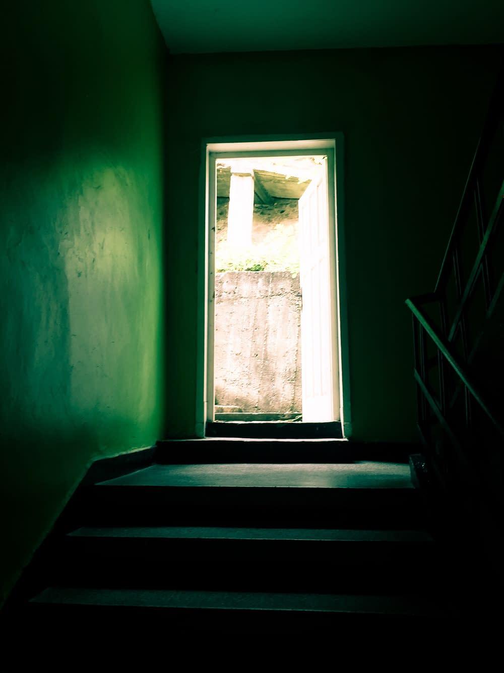 Dörren till andra våningen