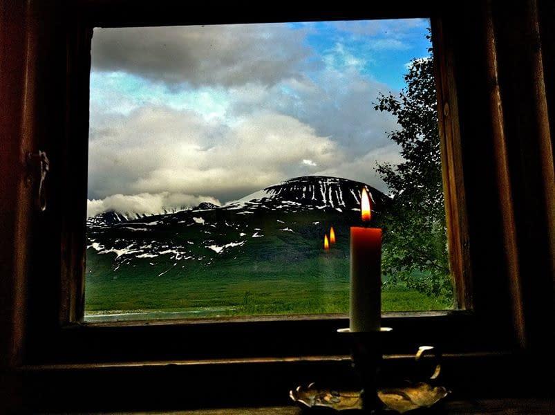 Akka mountain, Laponia, Sweden