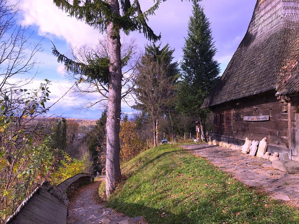 calinesti Church, Transylvania