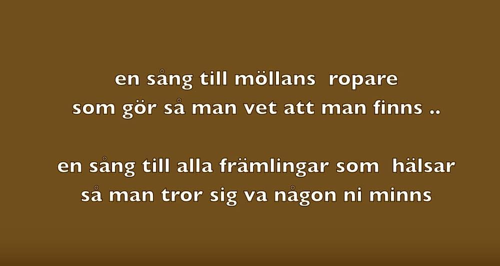 En sång till Möllan