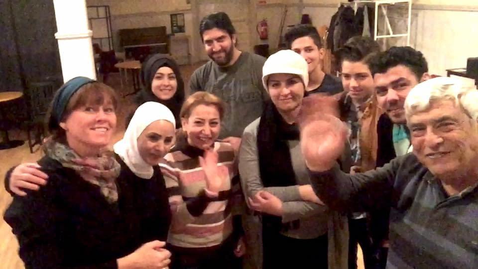 Mohamad Kheir Alaliwis Teater Freden