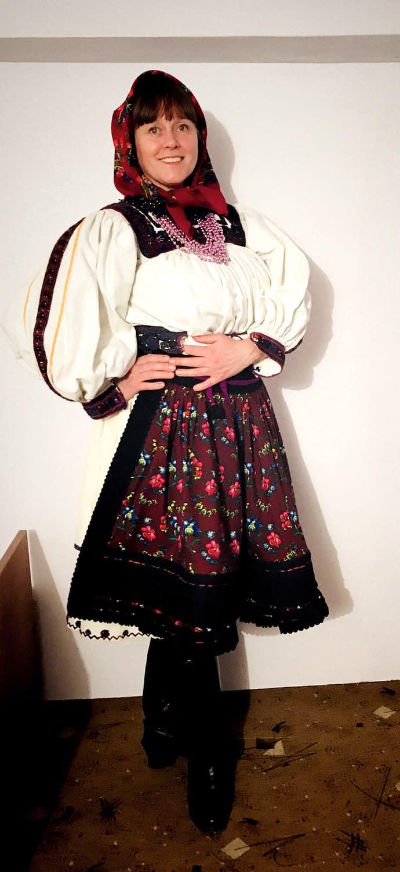 Malin Skinnar folklorist in Oas Bixad