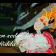 Animerad papercut av Malin Skinnar föreställande Jungfru Maria och barnet