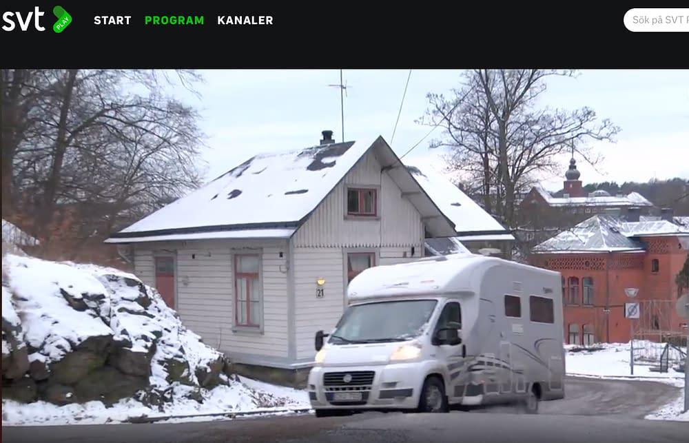 Malins husbil är en camping I kultur