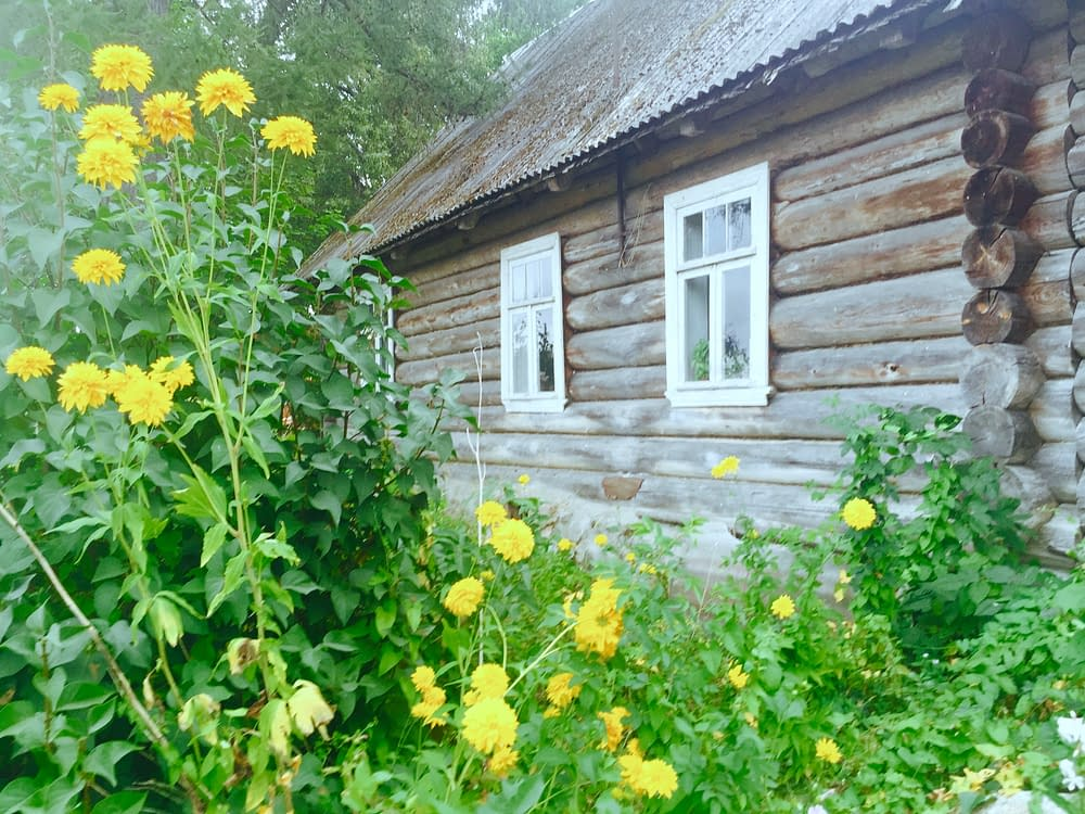 Timmerhus i Setomaa Estland