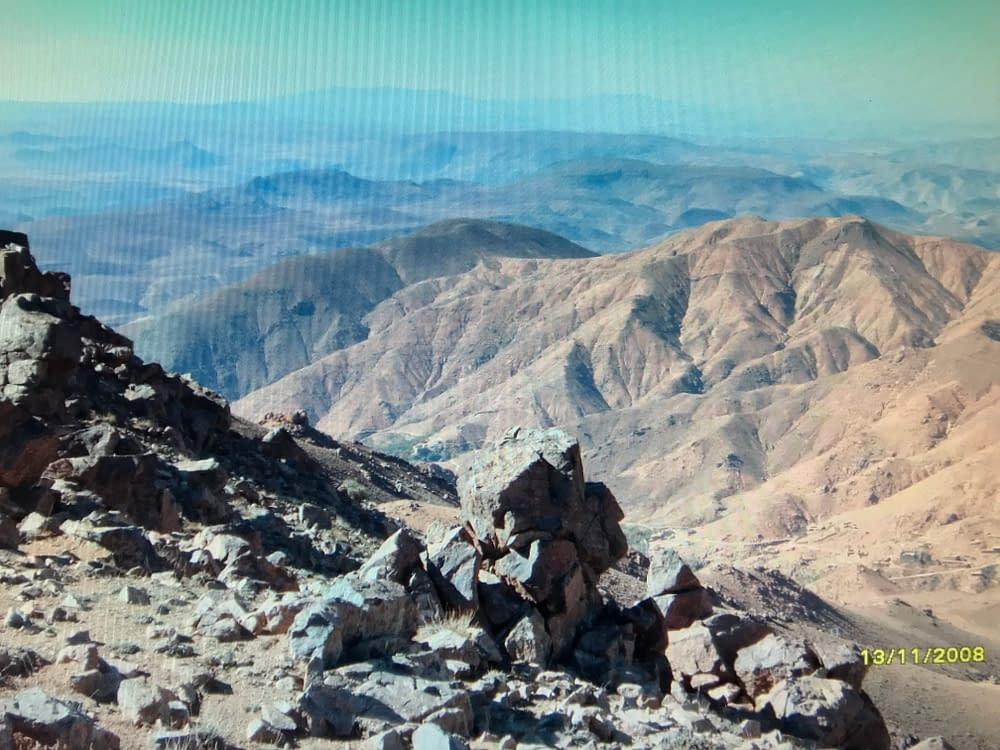 Filmad dagbok från vandring i Atlasbergen