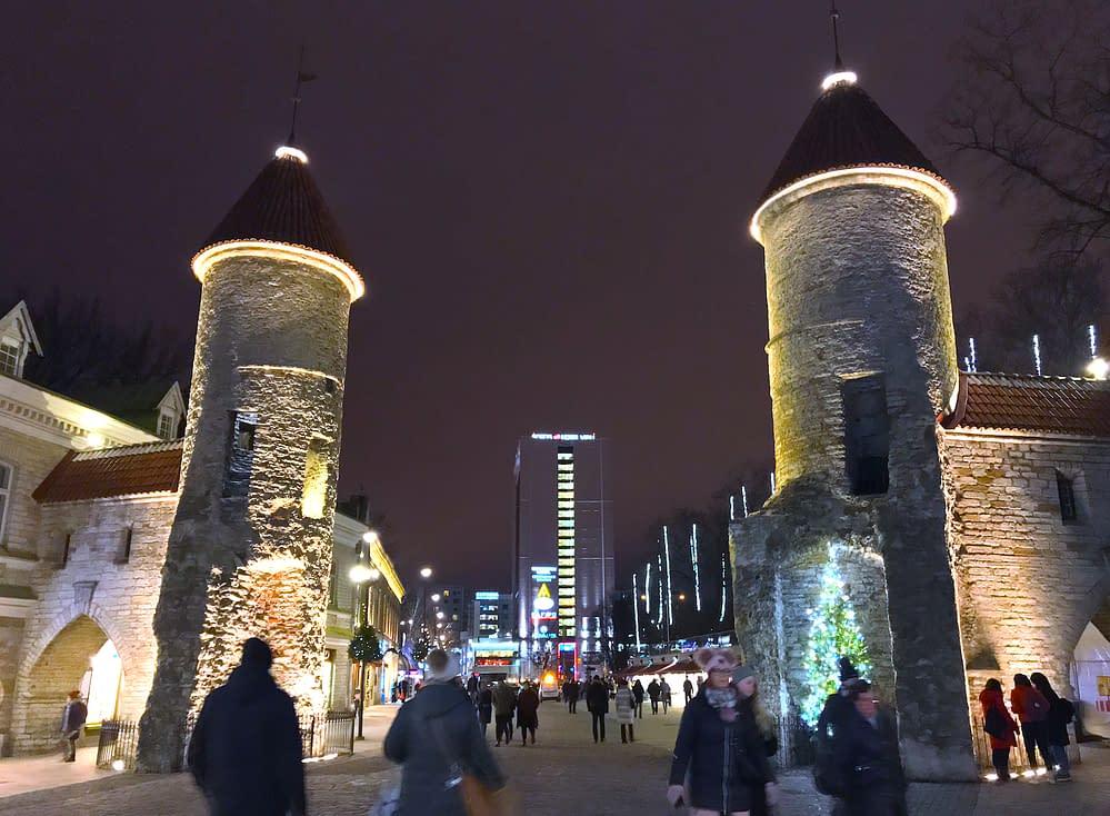 Tallinn medeltidsstadens ringmur