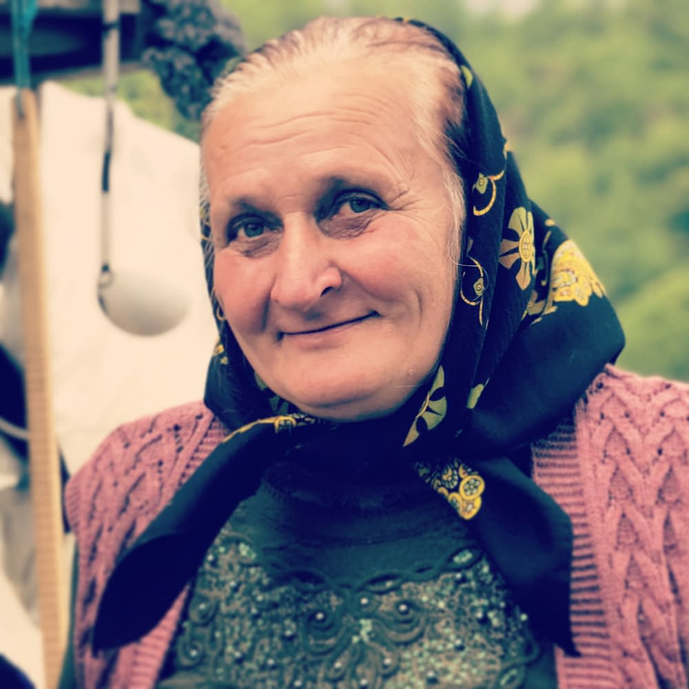 Gospodina Maria Filip, Cupseni, Romania, portrait by Malin SKinnar