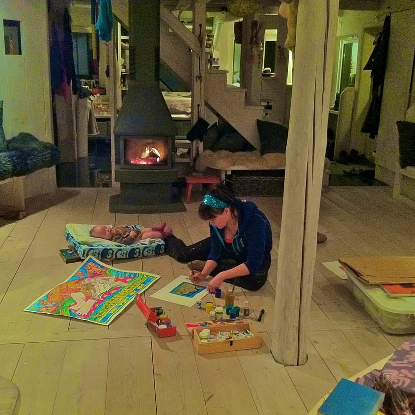 Malin Skinnar, studio, south sweden