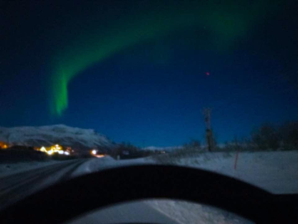 Bild från husbilen