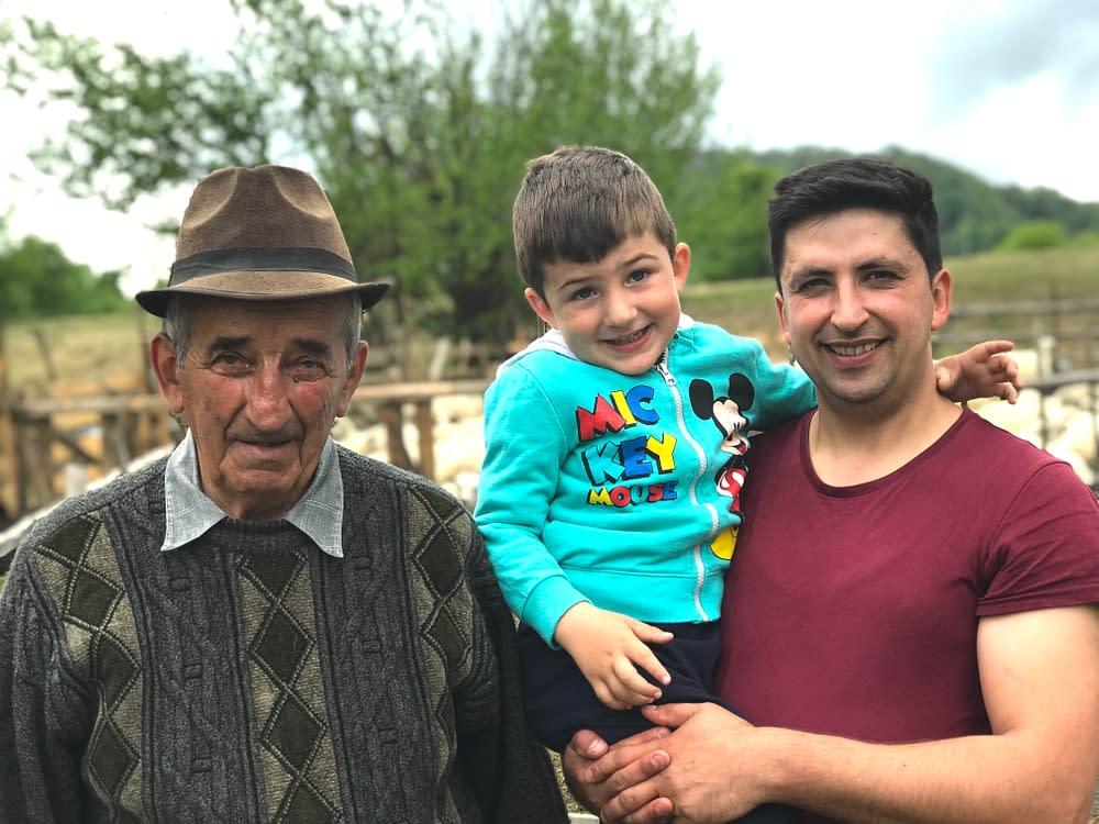 Gospodar Cupseni, Romania, farmers photo Malin Skinnar