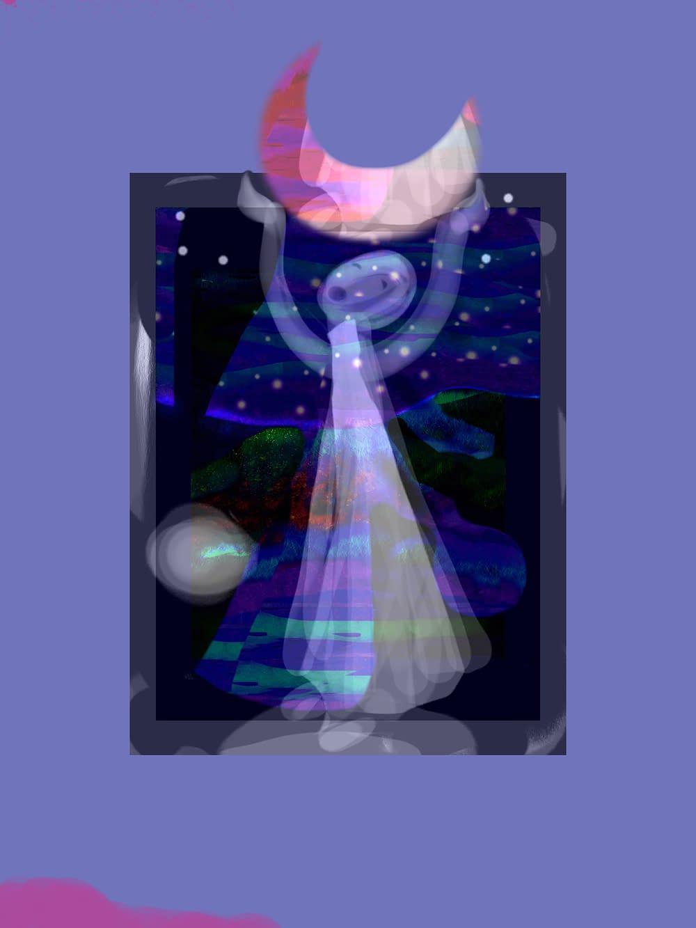 Illustration Malin Skinnar She carried the moon back