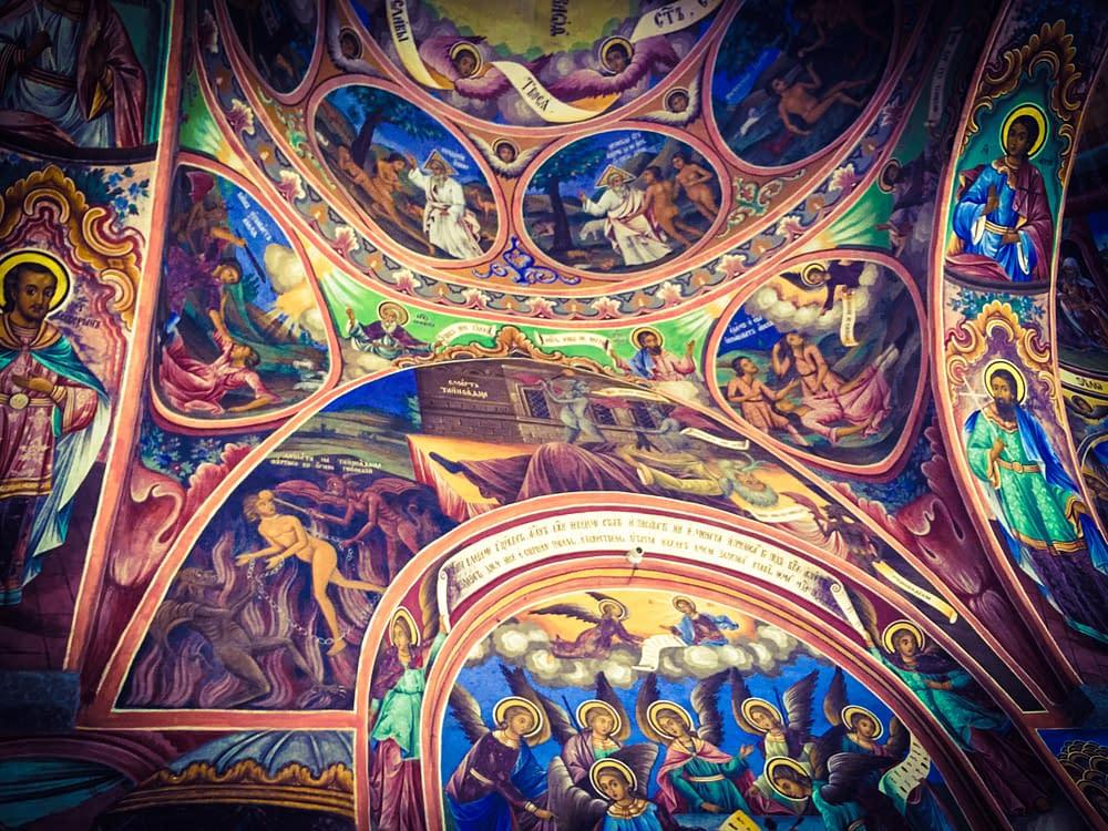 Bulgarien, Rila kloster