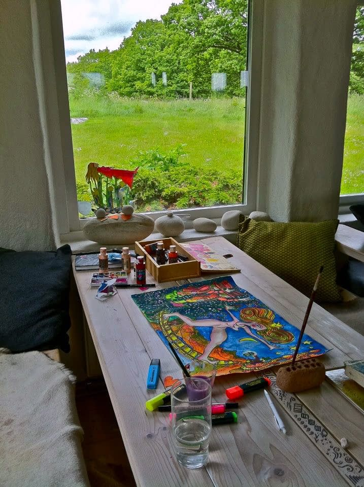 Atelje in Sweden