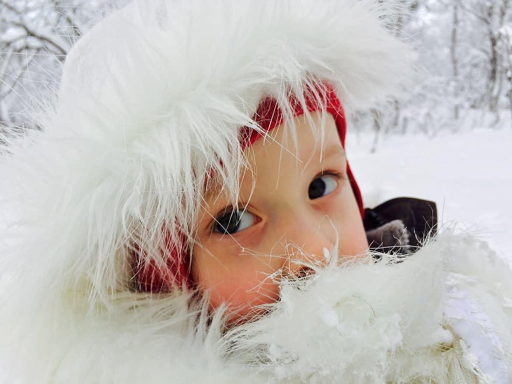 Barnens ögon ska inte titta på skärm