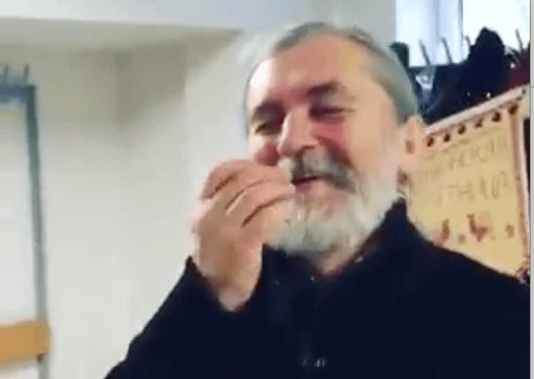 Folklorist Sergei Olenkin, Riga