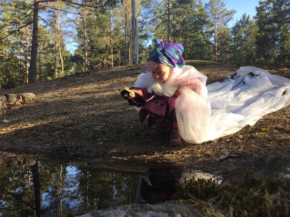 Sagoinspelning Tyresta för barnkanalen på www.malinstoryteller.com