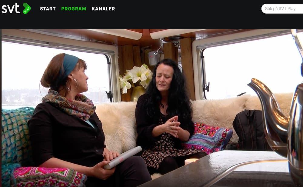 SVT följde med Malin Skinnar in i Världens Minsta Kulturhus