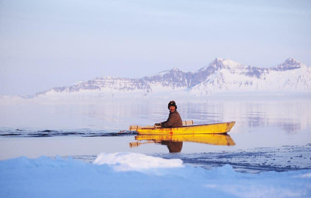 Hunter in Ittoqqortoormiit, east Greenland 1996