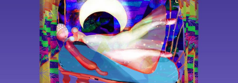 Illustration Malin Skinnar If you love the moon