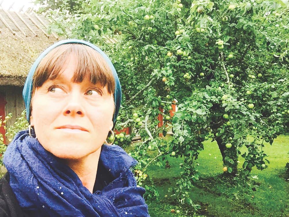 Malin Skinnar funderar på flykten från Ormsö