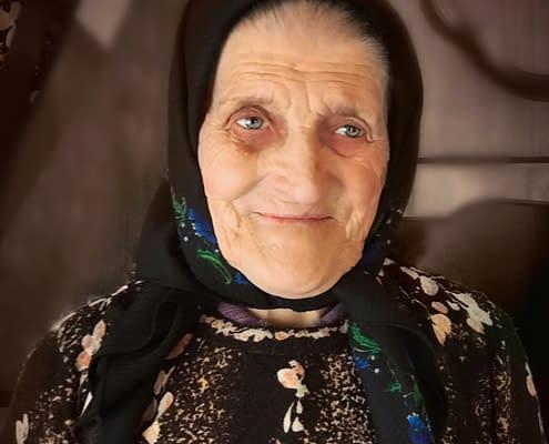 Portrait Iliana Miholca, gospodar, Transylvania